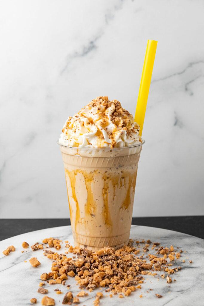 Our Coffee Toffee Crunch Milkshake