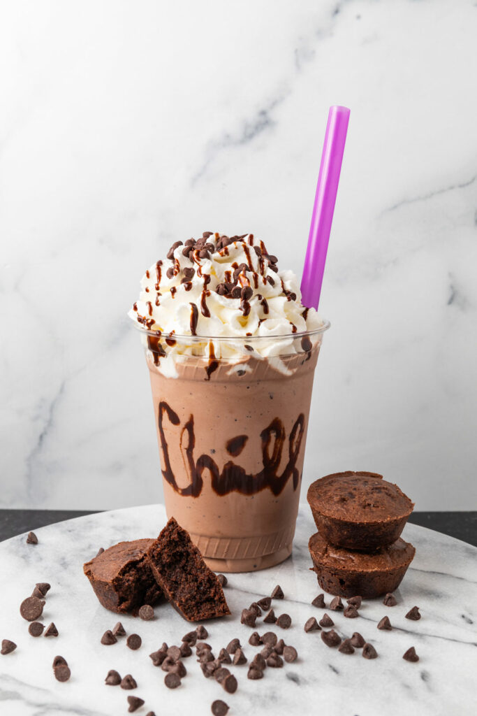 Our I Love Chocolate Milkshake