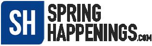 Spring Happenings Logo